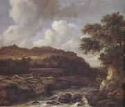 Jacob van Ruisdael A Mountainous Wooded Landscape with a Torrent (nn03) oil painting picture wholesale